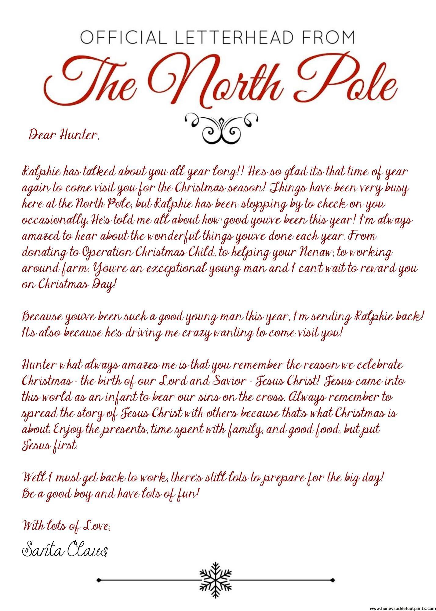 elf on the shelf arrival letter jesus christmas eots free download