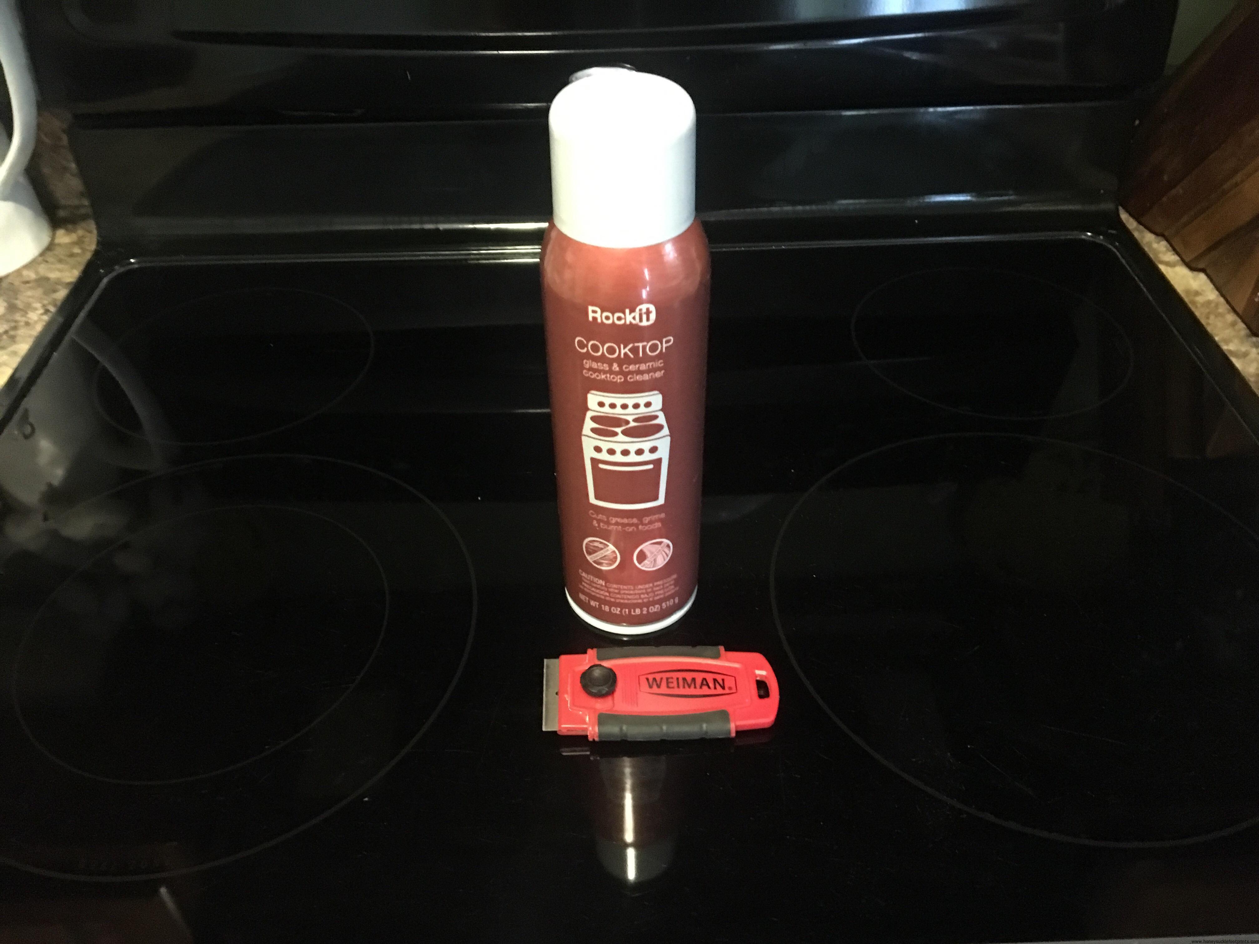 Gl Stovetop Shine Clean Remove Burn Marks Scorch